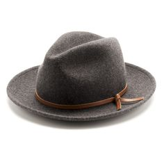 A best friend for travelers far and wide, the Luke takes heed from and style when your hat went with you everywhere. Includes a salvaged leather tie. Merino Wool Salvaged leather Unisex // Fitted // Made in the USA 40s Fashion, Fashion Hats, Fashion Scarves, Female Fashion, Fashion Women, La Mode Masculine, Cool Hats, Felt Hat, Well Dressed Men