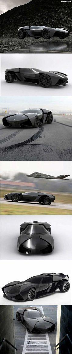 Lamborghini Ankonian a.k.a BatMobile
