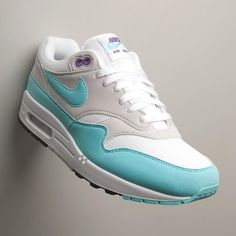 """The Nike Air Max 1 Anniversary OG """"Aqua"""" dropped today! Who copped? : by @allikestore ✒ #99kicksde for shoutout Facebook/Twitter/Pinterest: 99kicksde 99kicks.com #nike #airmax #nikeairmax #nikeair #follow4follow #TagsForLikes #photooftheday #fashion #style #stylish #ootd #outfitoftheday #lookoftheday #fashiongram #shoes #kicks #sneakerheads #solecollector #soleonfire #nicekicks"""