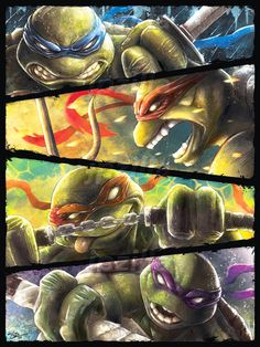 Turtle Power by jpzilla.deviantart.com on @DeviantArt