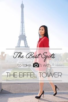 When in Paris, a photo with the Eiffel tower is a must. Here are the best time and spots to take photos with the Eiffel Tower from Trocadero.