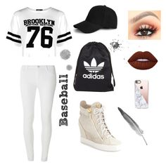 A fashion look from October 2016 featuring white crop top, petite pants and wedge sneaker. Browse and shop related looks. Petite Pants, Lime Crime, Giuseppe Zanotti, Casetify, Boohoo, Fashion Looks, Adidas, Crop Tops, Baseball