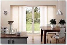 Sliding Gl Doors Window Treatments Kitchen Modern With Blinds For Patio Panel Fabric