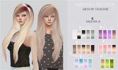 Fairytale + Fairtale Ribbon Recolor at Kalewa-a via Sims 4 Updates