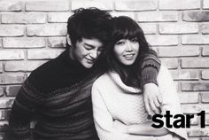 A Pink Eun Ji and Seo In Kook - @Star1 Magazine