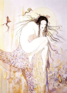 Yoshitaka Amano ~ 天野 喜孝 ~ The Virgin