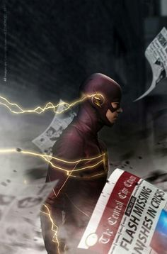 My name is Barry Allen and I& the fastest man alive. The Flash Quotes, Top Superheroes, Flash Characters, Flash Wallpaper, Flash Comics, O Flash, Flash Barry Allen, The Flash Grant Gustin, Supergirl And Flash