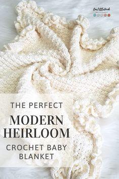 Crochet Baby Shawl, Free Baby Blanket Patterns, Crochet Baby Blanket Free Pattern, Manta Crochet, Crochet Bebe, Afghan Crochet Patterns, Baby Knitting Patterns, Knit Or Crochet, Baby Patterns