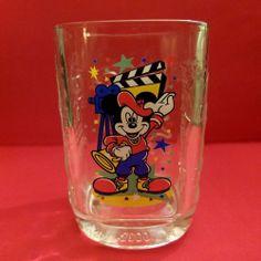 Mickey Mouse Walt Disney World McDonalds YEAR 2000 CELEBRATION CUP/GLASS