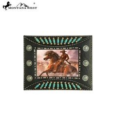 Indian Beaded Resin Photo Frame - Black