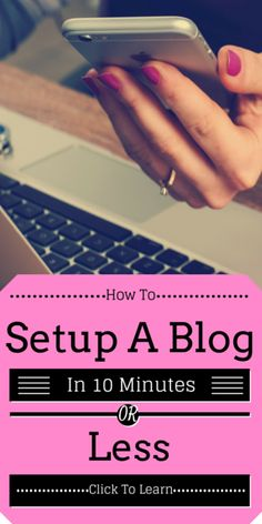 My friends are working full time just blogging for themselves. Its time to get started - great steps here to get started -Worked well for me.