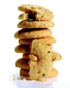Pine-Nut Cookies with Rosemary Recipe
