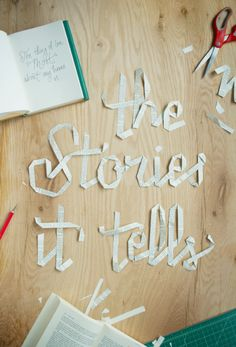 the stories it tells / Danielle and Jarrod Evans