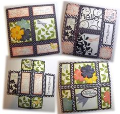 Never-Ending Card - All 4 openings by SheStampsHeCamps - Cards and Paper Crafts at Splitcoaststampers