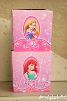 """Original pinner wrote, """"A Princess Celebration"""