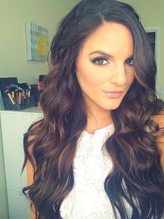 Prom makeup & hair #caseyholmes #prom hair #prommakeup tutorial on YouTube.com/itsbl0ndie