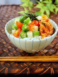 「キムチのねばねば丼」レシピ|みんなの朝ごはん・朝食レシピ:朝時間.jp