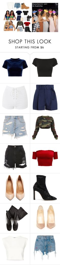 """Octavia's Instagram Post"" by bellatwinarmy ❤ liked on Polyvore featuring Helmut Lang, Topshop, Sea, New York, Gucci, Maison Margiela, Jimmy Choo, Rick Owens, Christian Louboutin, Puma and Alexander Wang"