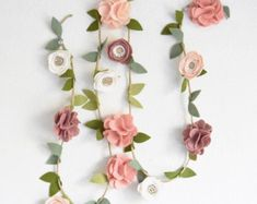 Etsy の GARLAND // You pick custom colors by fancyfreefinery