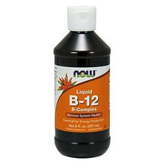 Vitamin B-12 (Cyanocobalamin) is a water-soluble vitamin necessary for the maintenance of a healthy nervous system and for the metabolic utilization of fats and proteins. Vitamin B-12 is also essential for the synthesis of DNA during cell division and therefore is especially important for... more details at http://supplements.occupationalhealthandsafetyprofessionals.com/vitamins/vitamin-b/b-complex/product-review-for-now-vitamin-b-12-complex-liquid8-ounce/