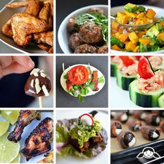 Forky Friday: 2014 Paleo Super Bowl Party Edition by Michelle Tam http://nomnompaleo.com