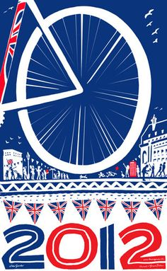 London 2012 : Ten Ace Olympic Souvenirs  London 2012 Olympics limited edition A3 print by HaveAGanderUK