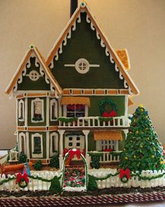 Go see Gingerbread Houses at the Grove Park Inn in Asheville, NC for Thanksgiving.