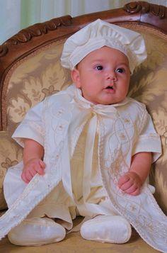 Paul babyanzug sommer taufanzug in creme bei princessmoda taufe pinterest - Taufanzug junge sommer ...