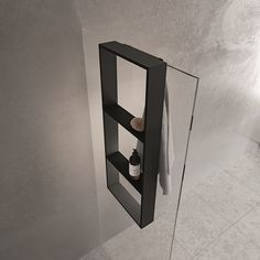 Condo Design, Bath Design, Classic Bathroom, Modern Bathroom Design, Bath Rack, Wall Hung Toilet, Shower Shelves, Metal Shelves, Shower Enclosure