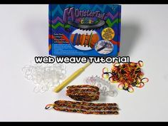 Monster Tail®: Web Weave - YouTube