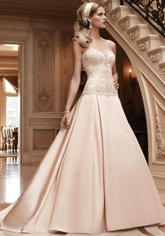 Strapless ball gown with sweetheart neckline and beaded embroidery I Style 2123: Casablanca Bridal I https://www.theknot.com/fashion/2123-casablanca-bridal-wedding-dress?utm_source=pinterest.com&utm_medium=social&utm_content=june2016&utm_campaign=beauty-fashion&utm_simplereach=?sr_share=pinterest
