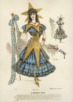 My Little Time Machine — gravesandghouls: Fancy Dress Costumes c. 1800s...The star