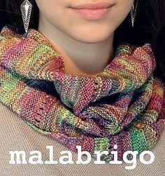 Afrato by Alexandra Nycha, knitted by katabellarina | malabrigo Finito in Mares