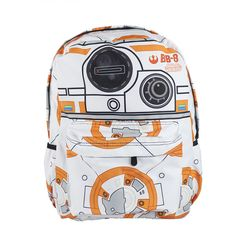 Now available!! Star Wars The For... Check it out!! http://www.shopgeekfreak.com/products/star-wars-the-force-awakens-bb-8-backpack-book-bag-xzbb009?utm_campaign=social_autopilot&utm_source=pin&utm_medium=pin #geek #shopgeekfreak