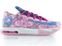 Nike KD6 Floral – Aunt Pearl
