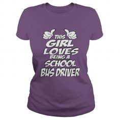 Being A School Bus Driver T Shirts, Hoodies. Get it now ==► https://www.sunfrog.com/Jobs/Being-A-School-Bus-Driver-Shirt-Purple-Ladies.html?41382