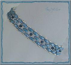bracelet CORO jean argent - Photo de Bracelets - Les perles de VinJulEve