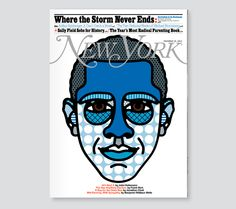 Obama on the cover for New York mag