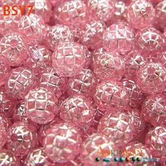 7mm Round Pink Loose Acrylic Spacer Charms DIY Beads http://www.eozy.com/7mm-round-pink-loose-acrylic-spacer-charms-diy-beads.html