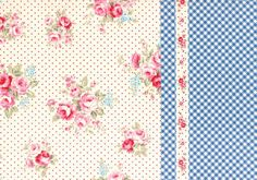 http://www.plushaddict.co.uk/lecien-flower-sugar-border-cotton-oxford-cloth.html Lecien - Flower Sugar Border Cotton Oxford Cloth - cotton fabric