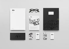Black & White     Identity     AVB on Behance