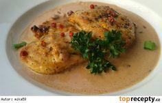 Krůtí medailonky s brusinkovou omáčkou Whole 30 Recipes, Hummus, Meat, Chicken, Ethnic Recipes, Cubs, Whole 30