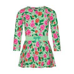 mim 279 Green floral dress