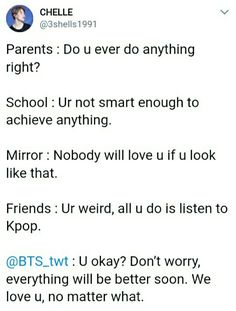 BTS and K-pop have helped me and still help me through some of the hardest times in my life and I am always grateful. Funny Memes About Life, Memes In Real Life, K Pop, Bangtan V, I Love Bts, My Love, Seokjin, Hoseok, Bts Qoutes
