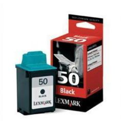 Lexmark Original No.50 Black Ink 17G0050E  100%  Genuine Lexmark Original No.50 Black Ink Cartridge.  Approx. 410 pages  For use with the following printers:  Compaq IJ600 ink cartridges Lexmark Z12 ink cartridges Lexmark Z22 ink cartridges Lexmark Z32 ink cartridges