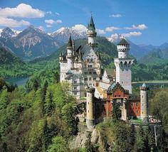 Castillo del Rey Loco en Baviera. No me puede gustar más.