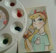 Starco, Star Vs The Forces Of Evil, Force Of Evil, Fan Art, Drawings, Disney, Display, Backgrounds, Sketches