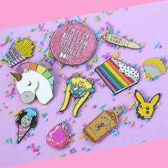Current pin collection! So much goodness! squeals  #pins #pingame #pingamestrong #enamelpins #flair #mightypop #sketchinc #crybaby #crybabyclub #toughandtender #prettyguardiansailormoon #crybabygirlgang #pikachu #pokemon #gameofthrones #got #unicorn #myunicornlife #friesbeforeguys #bullet #gems #sailormoon #cake #rainbowcake #thatsdarling #livingcolorfully #magicalgirl #kawaiigirl #fireball #whiskey by elorasaurus