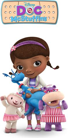 Doc McStuffins - one of Henry's favorites, doesn't seem to mind the slightly girlish (pinkish) overtones of this show.