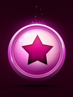 Star icon on Behance